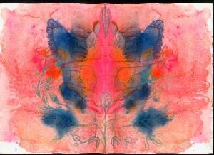 Pink Butterfly Goddess
