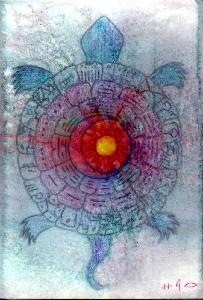 Ruest,Sarah-13  Moon Turtle