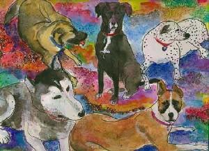 Lorie's Neice Dogs