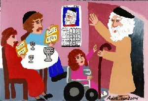The Passover Visitor