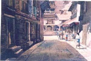 BHAKATAPUR IN NEPAL-2