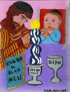 Havdalah II with Infant