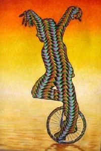 Guy,MOIGNE-monocycle