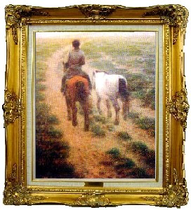 THE MAN WITH TWO HORSES